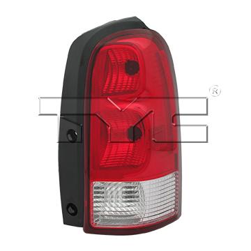TYC # 11-6097-00-1 Tail Light Fits OE # 15787132