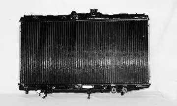 TYC # 1275 Radiator Replaces OE # 16400-15410
