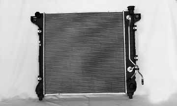 TYC # 1905 Radiator Replaces OE # 52028775AH