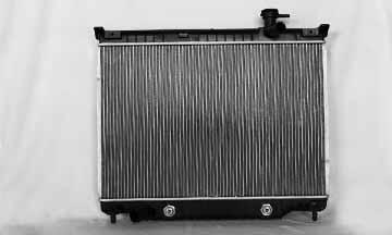 TYC # 2458 Radiator Replaces OE # 15196385