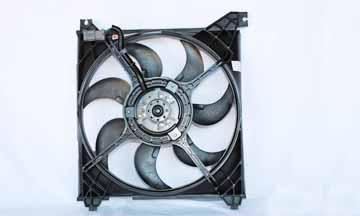 TYC # 600610 Radiator Fan Fits OE # 25231-38000