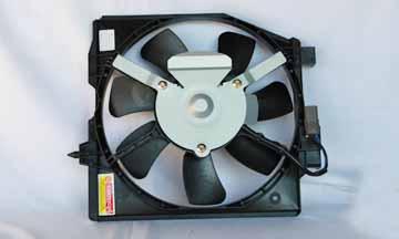 TYC # 610500 Radiator Fan Fits OE # RF1S-15-150