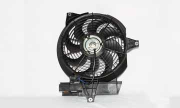 TYC # 610610 Radiator Fan Fits OE # 97786-26200