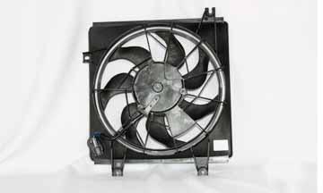 TYC # 610670 Radiator Fan Fits OE # 1K2A1 61710B