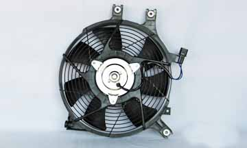 TYC # 610770 Radiator Fan Fits OE # MR513487