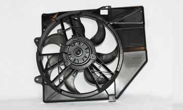 TYC # 620230 Radiator Fan Replaces OE # F5CZ 8C607A