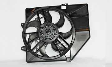 TYC # 620230 Radiator Fan Fits OE # F5CZ 8C607A