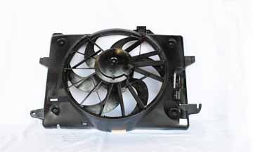 TYC # 620260 Radiator Fan Fits OE # F8VZ 8C607 AA