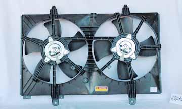 TYC # 620760 Radiator Fan Fits OE # 21483-CA000