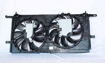 TYC # 620780 Radiator Fan Fits OE # 10427836