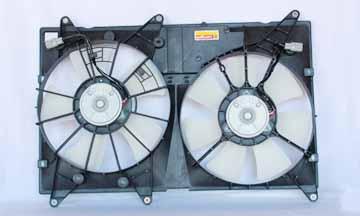 TYC # 620810 Radiator Fan Fits OE # 16711-20120
