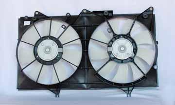 TYC # 620860 Radiator Fan Fits OE # 16361-0A121